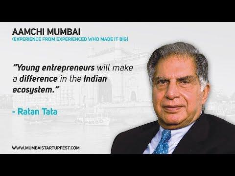 Ratan Tata Story | Aamchi Mumbai | Mumbai Startup Fest 2018