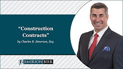 """""""Construction Contracts"""" by Charles B. Jimerson"""