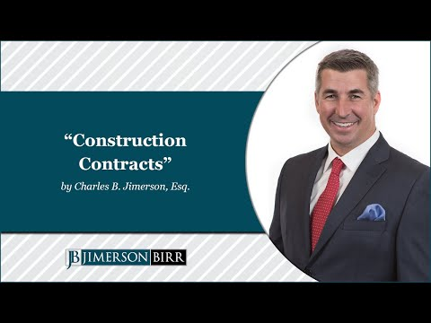 """Construction Contracts"" by Charles B. Jimerson"