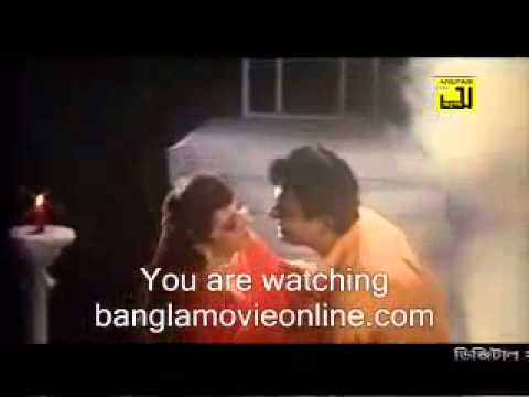 Bangla movie song  Aguner din ses hobe   YouTube