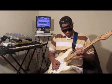"Gangsta Pat Playing ""Choosey Lover"" on guitar"