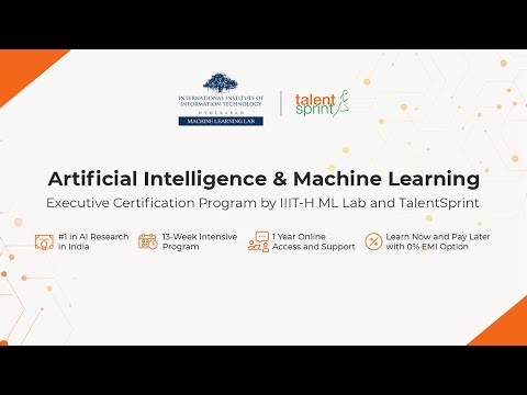 Launch of Artificial Intelligence (AI ) & Machine Learning (ML) Program