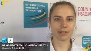 Interview: Alexandra Falcsik, HUN #WKC2019