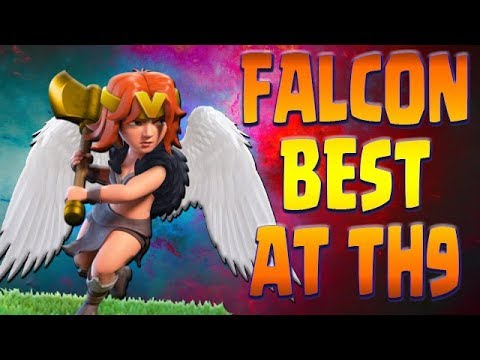 FALCON TH9 | NEW TOP Attack | Ultimate GUIDE | Clash of Clans