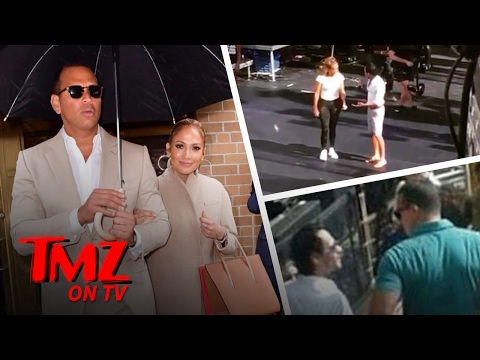 Is A-Rod Jealous of Marc Anthony?? | TMZ TV