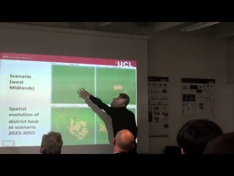 UCL-Energy seminar: 'Developing secure, environmentally sound city and national energy systems'