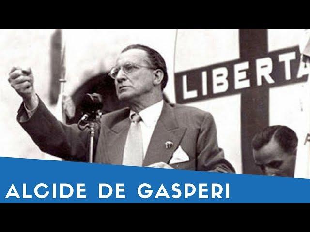ALCIDE DE GASPERI in 7 sue frasi (+ mini biografia)