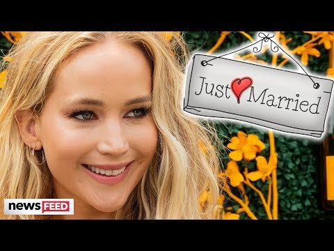 Jennifer Lawrence Married Cooke Maroney!