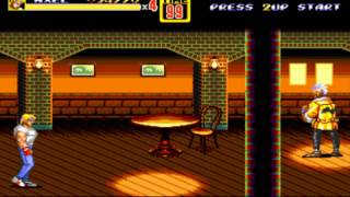 Streets of Rage 2 - 01 - Downtown [HARD MODE] [HD]