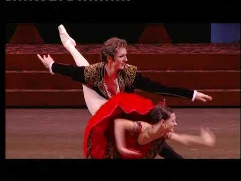 Nina Kaptsova as Kitri and Semyon Chudin as Basil. Part4. Grand PDD