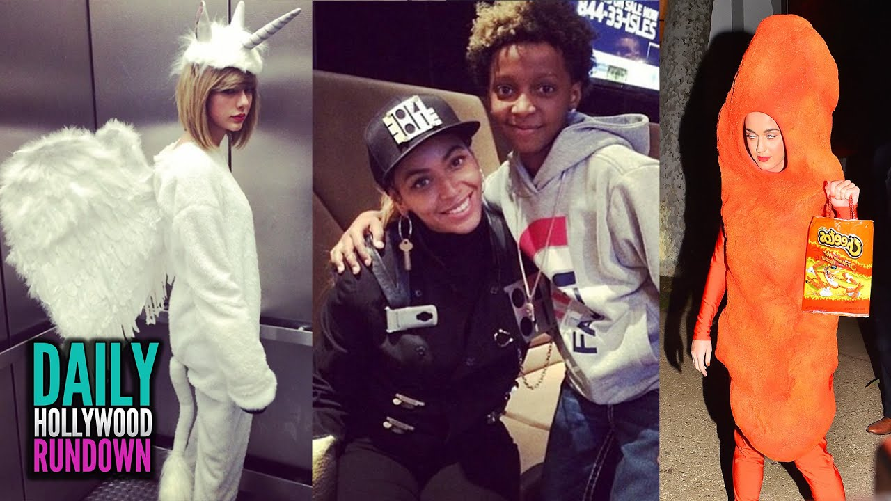 taylor swift beyonce katy perry more celebrity halloween costumes 2014 dhr youtube - What Was Taylor Swift For Halloween