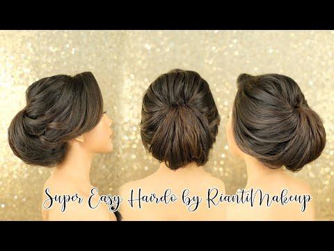 Super Easy Hairdo (Step By Step ENGGA PAKE RIBET)