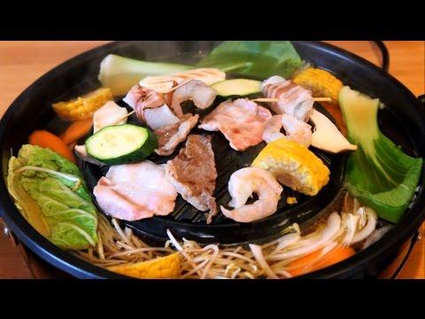 Wie verwendet man den TomYang BBQ Thai Grill?