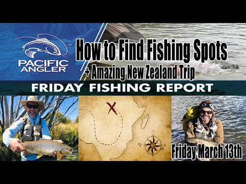 Pacific Angler Vancouver Fishing Report - How To Find Fishing Spots - March 13th