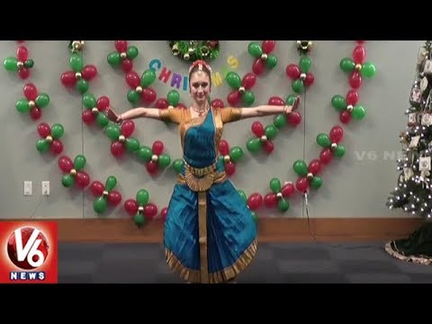 Telugu NRIs Celebrate Christmas Festival In Houston City | V6 USA NRI News