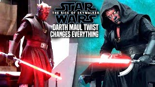The Rise Of Skywalker Darth Maul Twist Changes Everything! (Star Wars Episode 9)