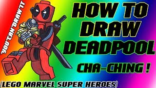 How To Draw Deadpool from Lego Marvel Super Heroes ✎ YouCanDrawIt ツ 1080p HD