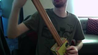 Cigar Box Guitar A D G tuning (open d tuning)