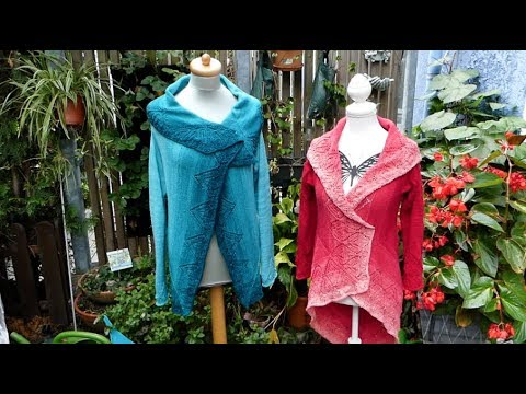 "Youtube-Tutorial: Strickanleitung Jacke ""Quadratur des Kreises"" - easy Version"