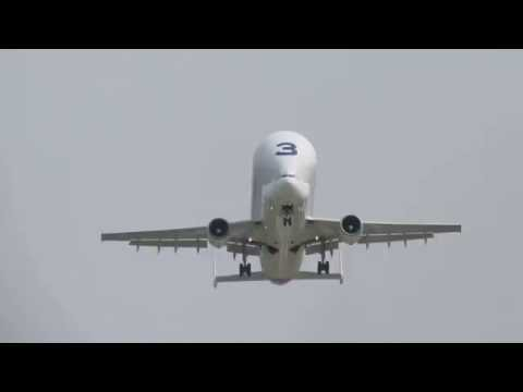 Airbus Beluga 3 Take Off Hawarden CEG Chester Airport 7th June 2016