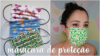 Máscara de Proteção – Como fazer – Bia Feltz