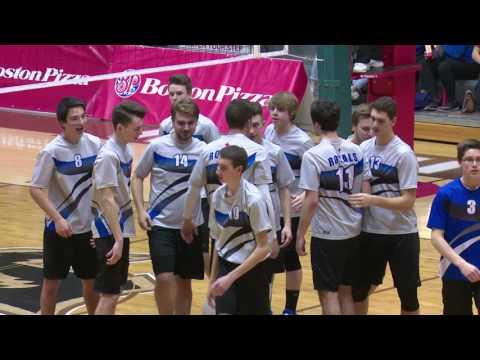 2016 Boston Pizza MHSAA AAAA Provincial Boys Volleyball Championships