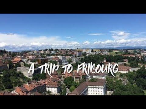 A walk through Fribourg Switzerland