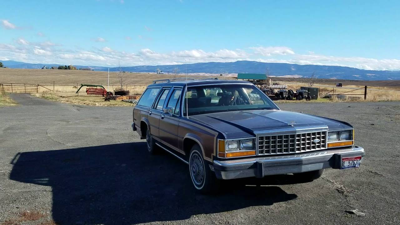 1985 Ford Country Squire For Auction