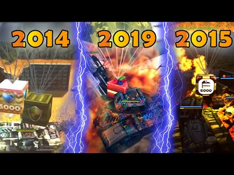 Tanki Online Every Birthday Gold Box 2009-2019 | AV Gamers | танки Онлайн