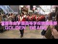 さくらパレード箕面自由学園高等学校吹奏楽部GOLDEN BEARS 4K撮影2019年京都さ…