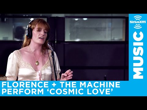 Florence + The Machine Perform Cosmic Love At The SiriusXM Studios