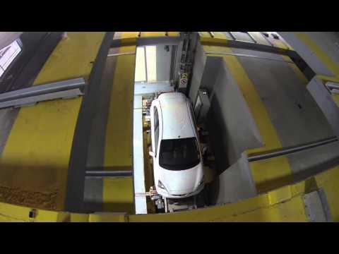 Robotic parking, Zalogou 3-5, Athens