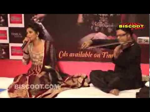 Humnasheen: Shreya Ghosal's First Ghazal Album Launch