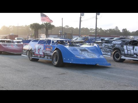 UDLMCS Late Models Heats and B-Main- Volusia Speedway Park 4-25-15