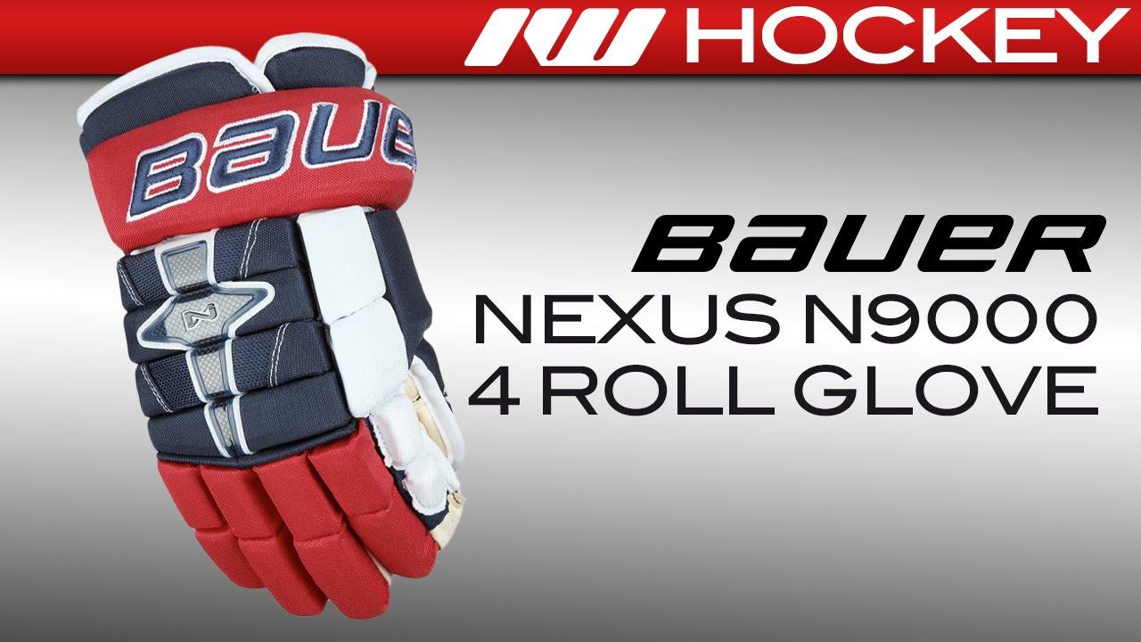 02e3909d19f Bauer Nexus N9000 4-Roll Gloves Review - YouTube