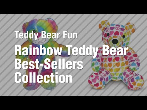 Rainbow Teddy Bear Best-Sellers Collection // Teddy Bear Fun
