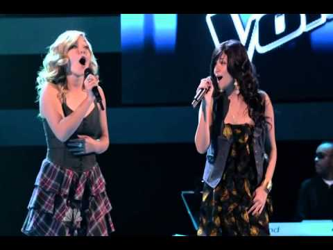 Tori And Taylor Thompson   Stuck Like Glue  The Voice   01x02   The Blind Auditions, part 2