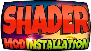 Minecraft 1.11 SHADERS Mod Installation ⬤ NEU Einfacher Weg! ⬤ Schatten & Reflexionen Windows & Mac