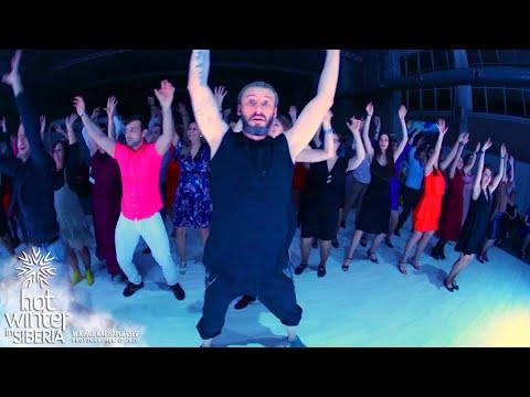 Сальса Анимация! ARREBATATE LOS 4 ! Hot Winter in Siberia. Социальные танцы