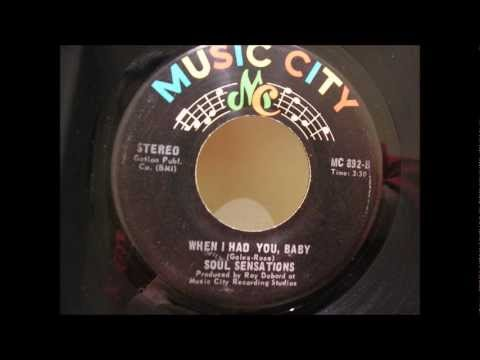 soul sensations when i had you baby music city
