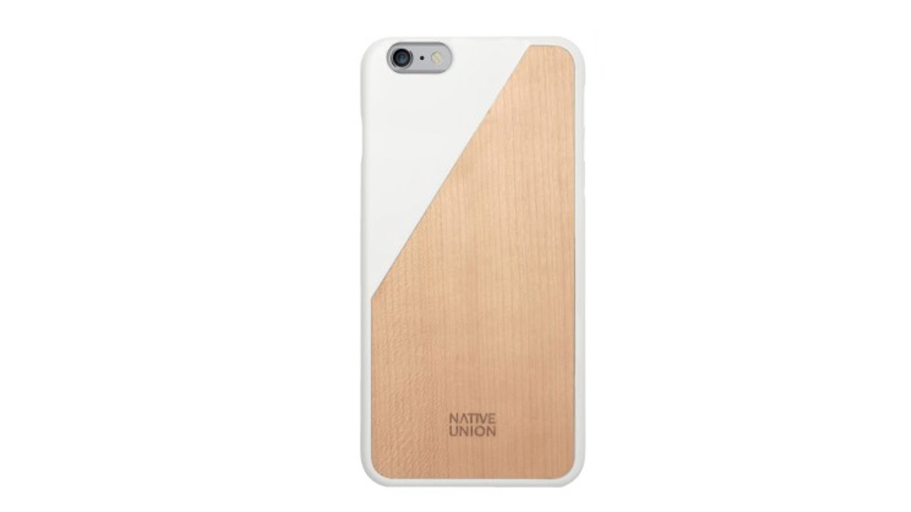 official photos 8dc4a 198f9 Native Union CLIC Wooden Case for iPhone 6 Plus