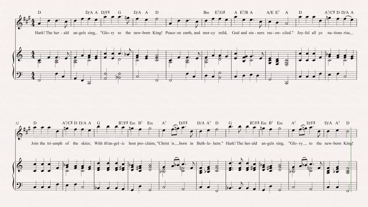 Alto sax hark the herald angels sing christmas carol sheet alto sax hark the herald angels sing christmas carol sheet music chords vocals hexwebz Gallery