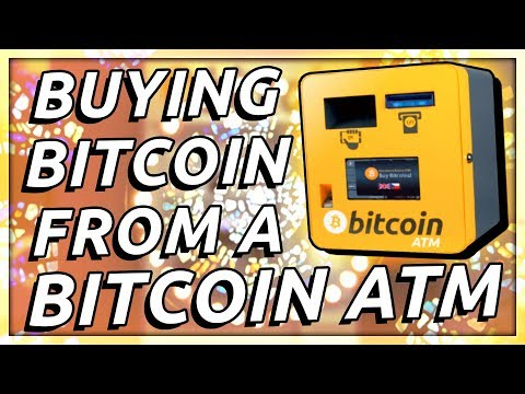 BUYING BITCOIN FROM A BITCOIN ATM
