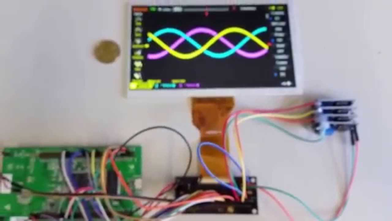 STM32F429 Discovery + 7