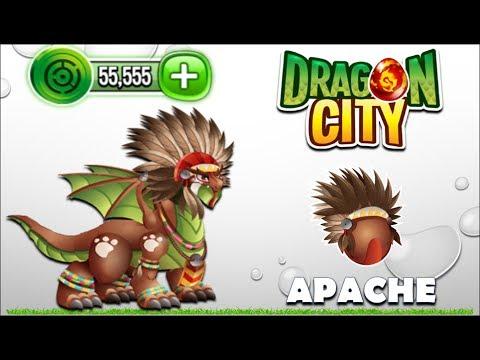 Dragon City - Apache Dragon [Video Game Island - Full Unlock 2017]