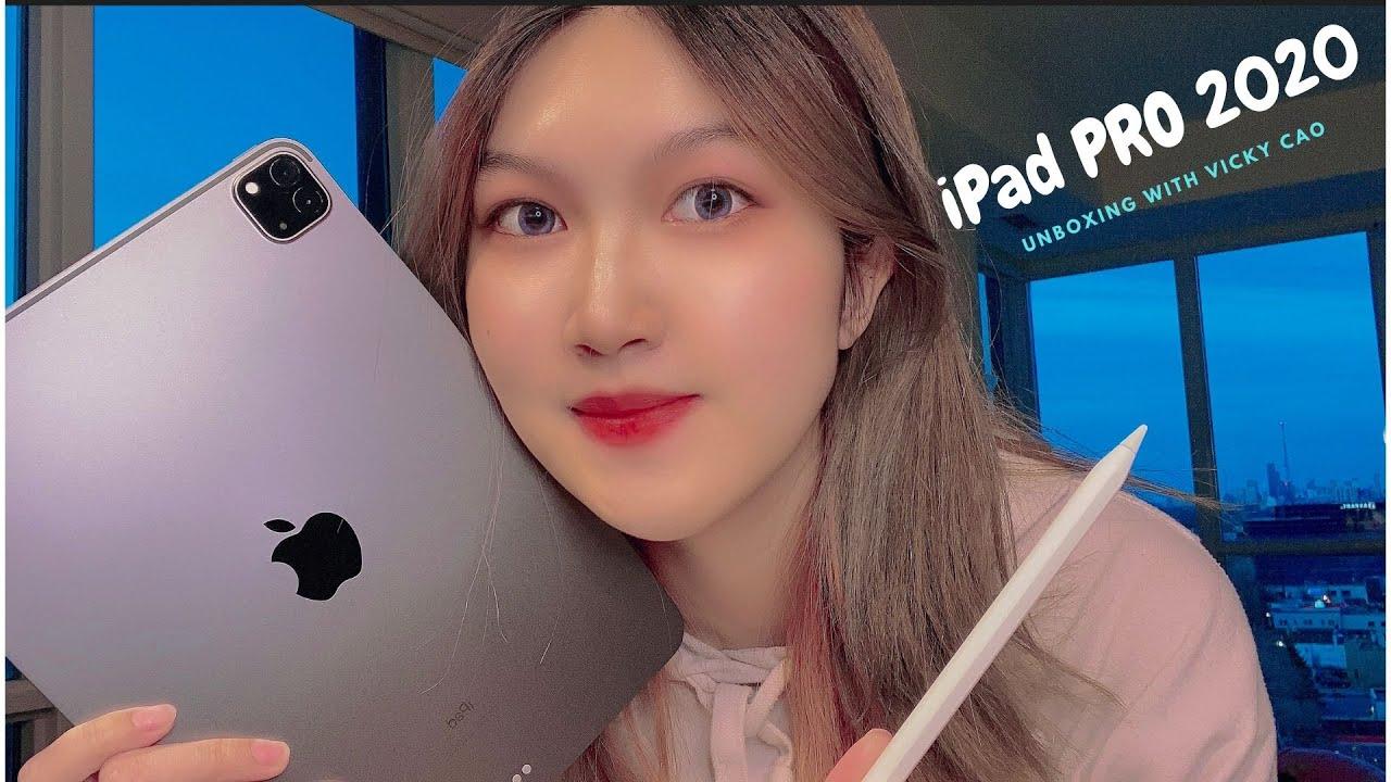 """[Unboxing] Đập hộp iPad PRO 2020 & Apple Pencil 2 – ăn mừng """"thất học"""" tại Canada"""