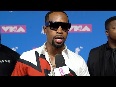 Safaree Talks Nicki Minaj Feud, Hairline, BDE At MTV VMAS 2018 | EXCLUSIVE | Hollywoodlife