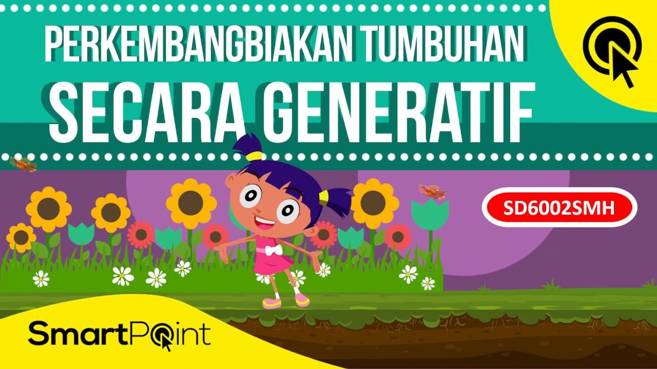 Perkembangbiakan Tumbuhan Secara Generatif Smartpoint Sd6002smh Youtube