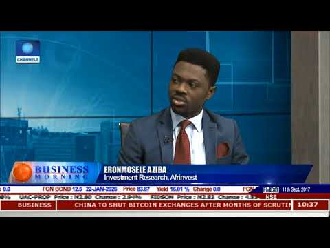 Equities Market Review With Eronmosele Aziba Pt 1 | Business Morning |