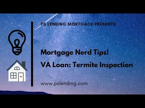 VA Loans – Termite Inspection